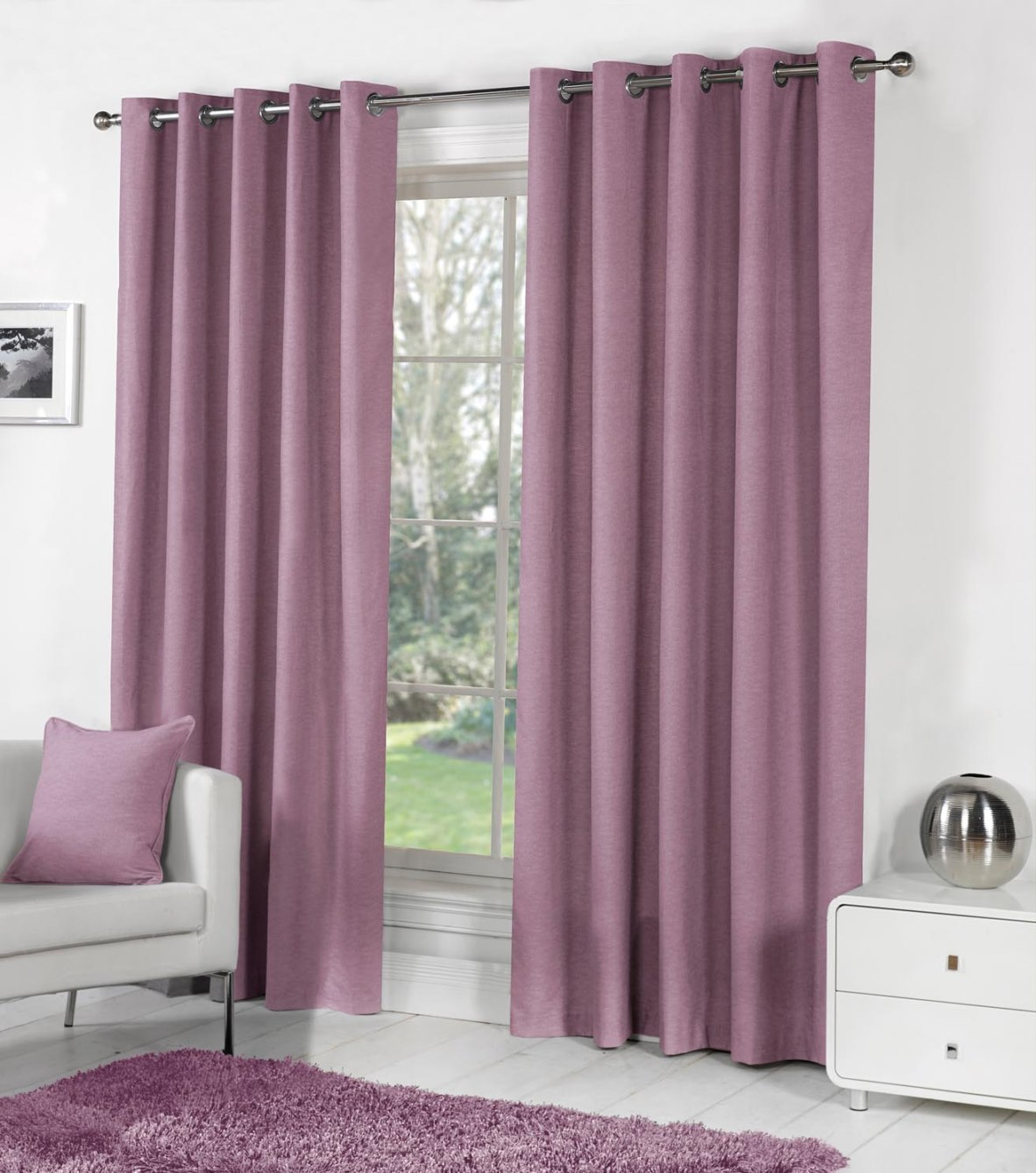 50 Cool Bay Window Decorating Ideas: Long, Wide And Bay Window Curtains, Providing Hard-to-get