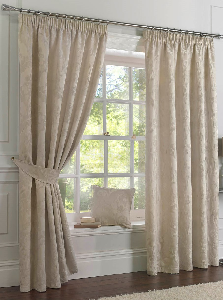 Double Rod Pocket Sheer Curtains Custom Curtains for Bay Windows