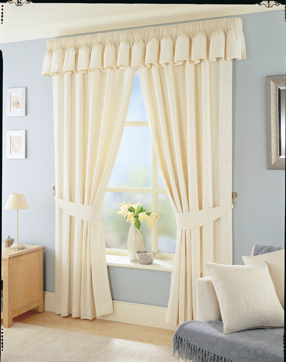 Palazzo Silk Curtain Fabric Coffee - Cheap Prices | UK Delivery