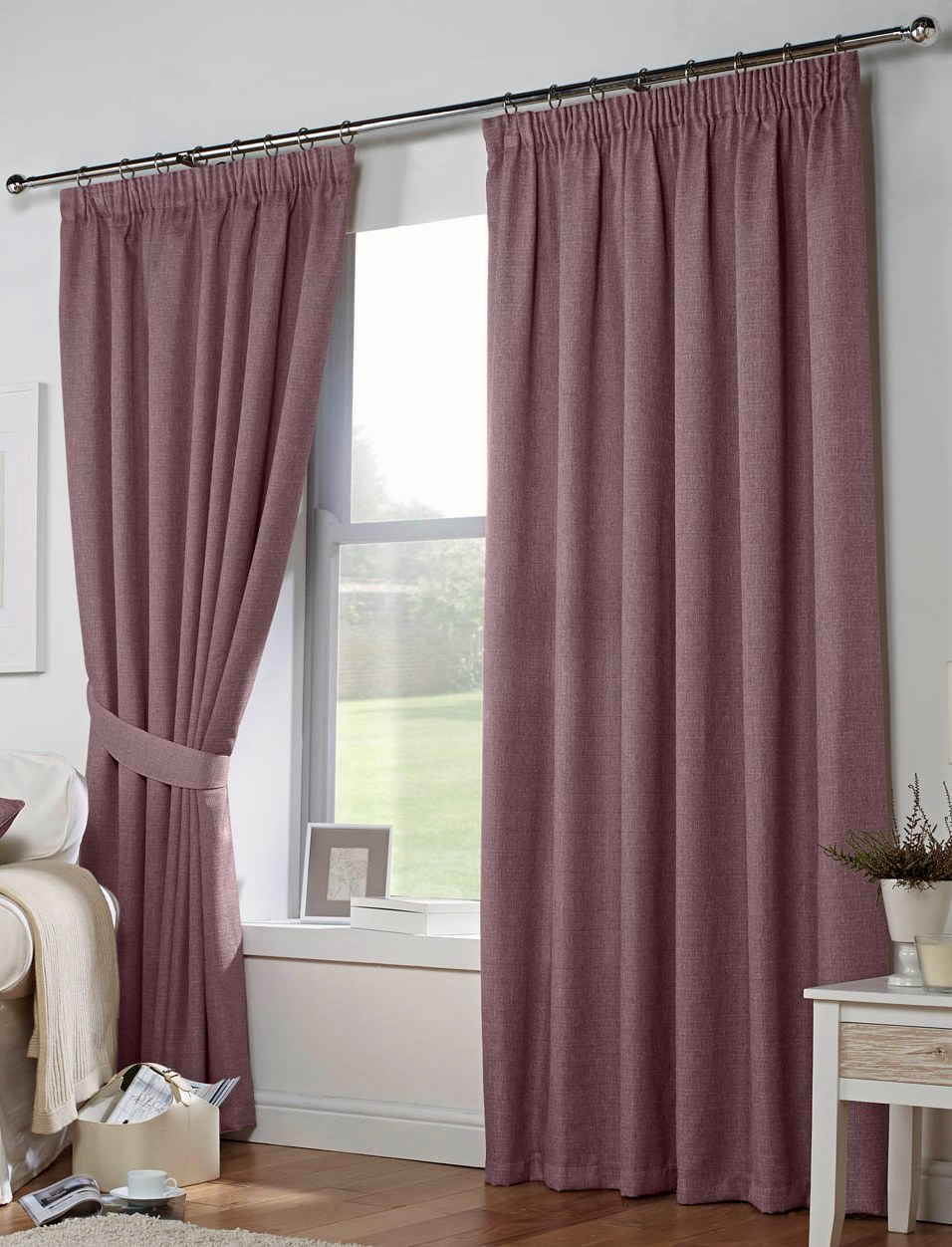 Double Rod Pocket Sheer Curtains Drapery Rods for Bay Windows